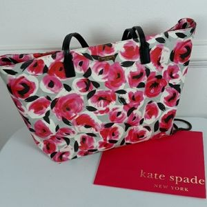 KATE SPADE MARGERITA SHORE STREET ROSE BED TOTE